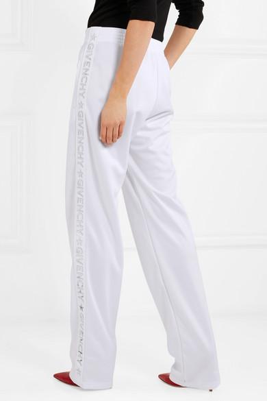 Givenchy Jogginghose aus glänzendem Jersey