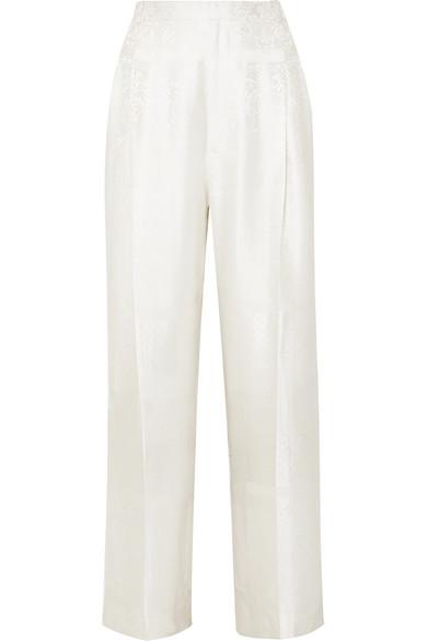 Givenchy Hose aus glänzendem Jacquard