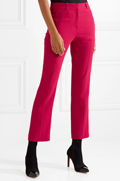 Givenchy Verkürzte Hose mit geradem Bein aus Cady