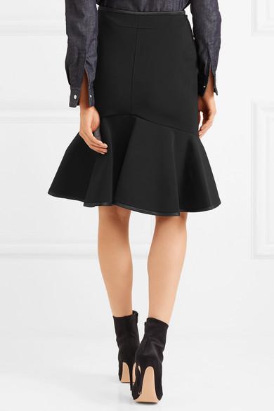 Givenchy Rock aus Stretch-Strick mit Seidenbesatz Wirklich Günstig Online Billig Rabatt Verkauf Bester Preis Billig Verkauf Vorbestellung p49cYM0dJ