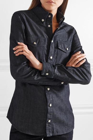 Givenchy Bedrucktes Jeanshemd