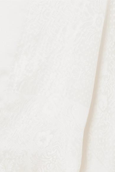 Top Drapé Givenchy En Jacquard Brillant