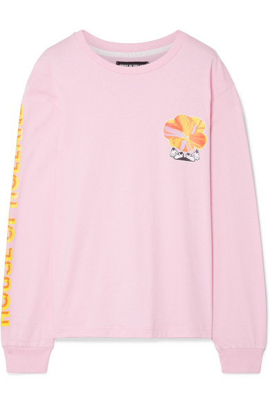 House Of Holland Printed Uppers Of Cotton-jersey