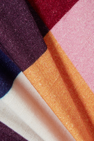 House of Holland Minirock aus Voile in Patchwork-Optik