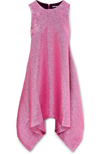 House Of Holland Draped Mini Dress In Lurex®
