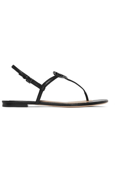 699823532 Tory Burch. Liana crystal-embellished leather sandals