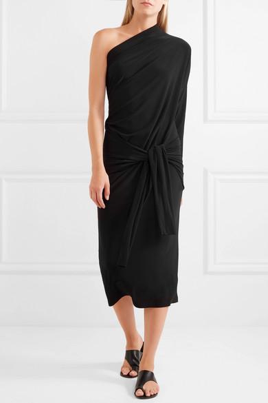 Norma Kamali Wandelbares Kleid aus Stretch-Jersey