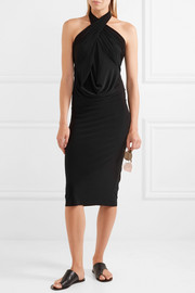 Norma Kamali Convertible stretch-jersey dress
