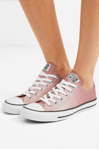Converse Chuck Taylor All Star Sneakers aus Canvas mit Glitter-Finish