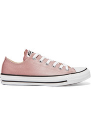 Converse Chuck Taylor All Star glittered canvas sneakers