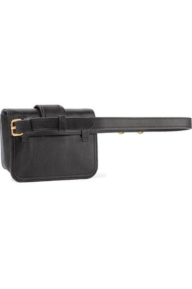 Prada Cahier Gürteltasche aus strukturiertem Leder