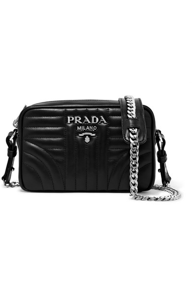 c04bd01a888047 Prada | Quilted leather camera bag | NET-A-PORTER.COM