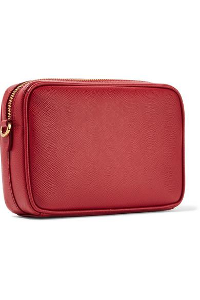 Prada Shoulder Bag Made Of Textured Leather