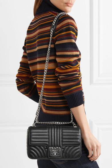 19e8d48a888a Prada | Quilted leather shoulder bag | NET-A-PORTER.COM