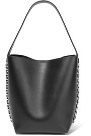 Givenchy Infinity chain-trimmed leather shoulder bag
