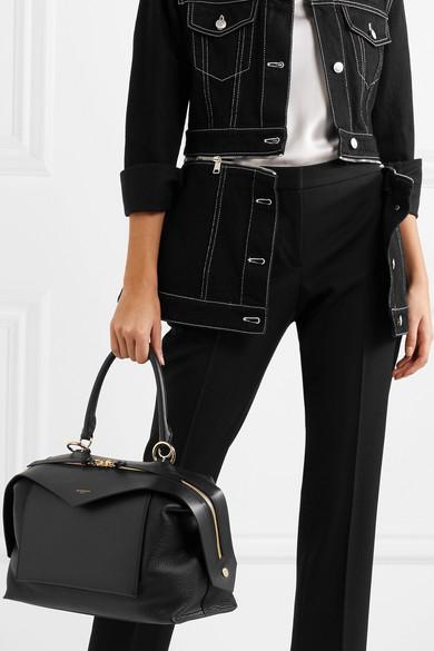 Givenchy Sway medium Tote aus glattem und strukturiertem Leder
