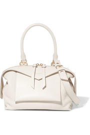Givenchy Sway small smooth and textured-leather shoulder bag