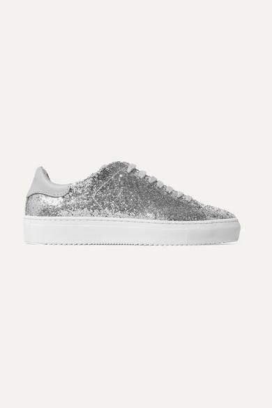 Axel Arigato Clean 90 Leder-Sneakers mit Glitter Günstige Top-Qualität Günstige Preise Authentisch Günstig Kaufen Rabatte TcY5SF9dX