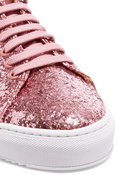 Axel Arigato Clean 90 Leder-Sneakers mit Glitter
