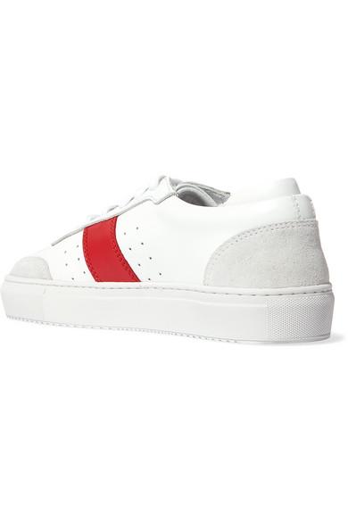 Axel Arigato Dunk Sneakers aus Leder mit Velourslederbesätzen Discount Versandkosten Frei tB4wxfGTV