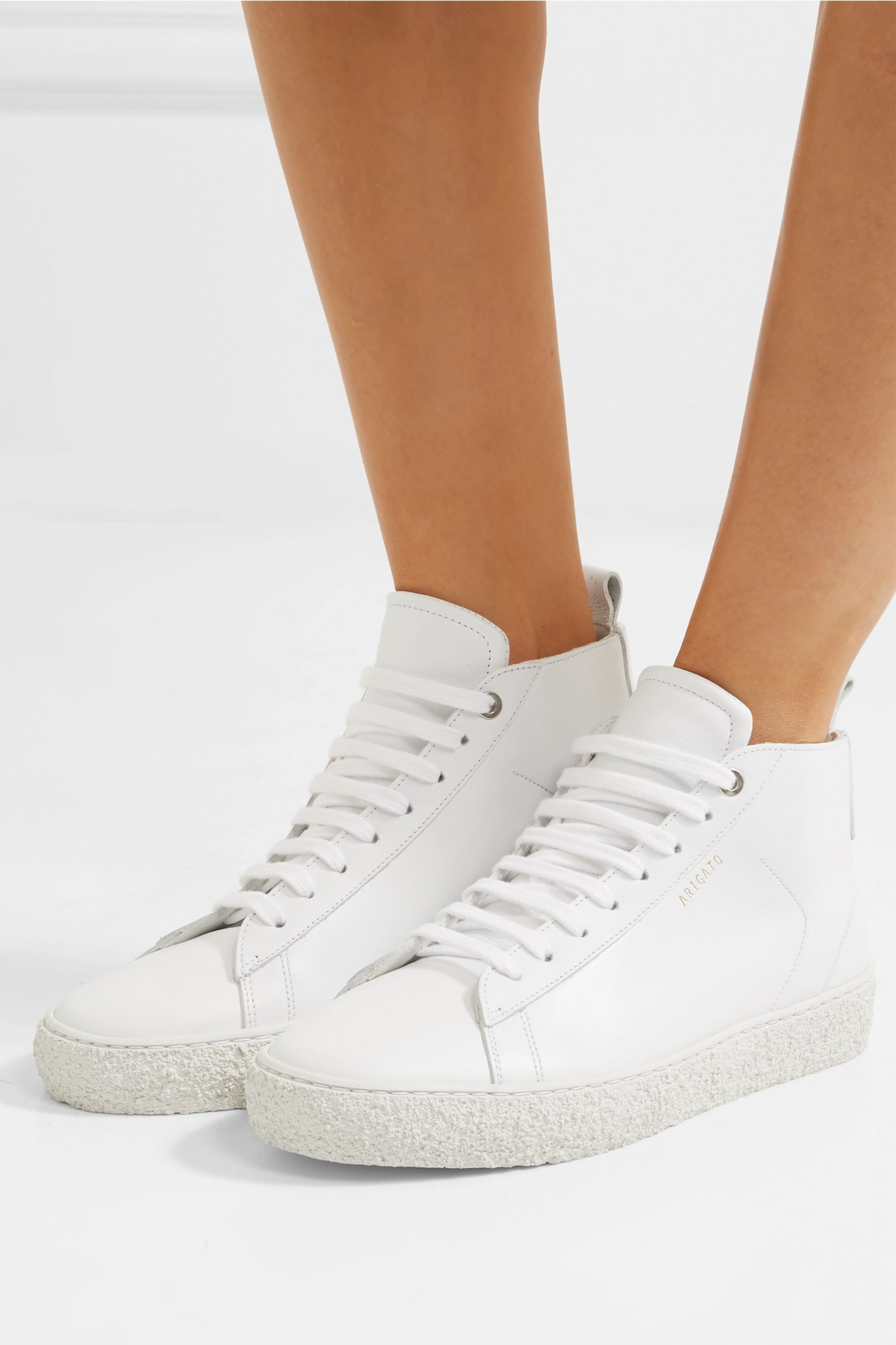 Axel Arigato Court leather high top