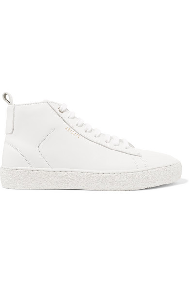 Court High Top Sneakers aus Leder