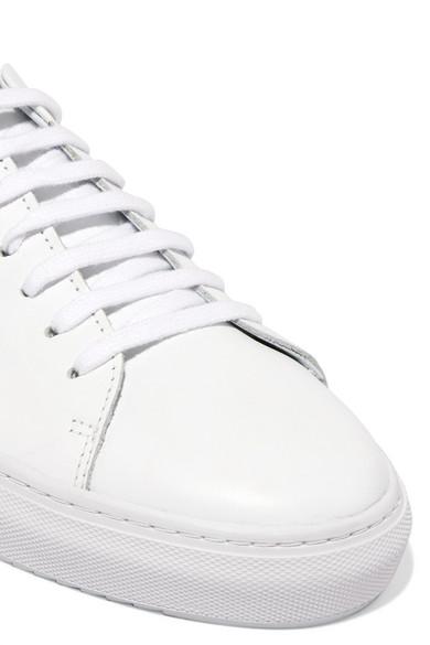 Axel Arigato Clean 90 Sneakers aus Leder mit Stickerei