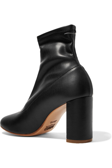 Auslass-Angebote MM6 Maison Margiela Sock Boots aus Stretch-Leder Freies Verschiffen Großhandelspreis qNkSgAEO8H