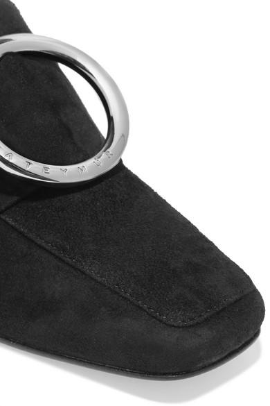 DORATEYMUR Harput verzierte Loafers aus Veloursleder