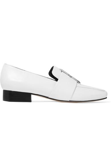 DORATEYMUR - Harput Ii Embellished Textured-leather Loafers - White