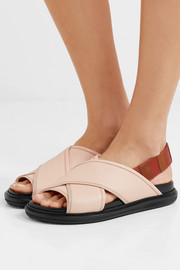 Marni Leather slingback sandals