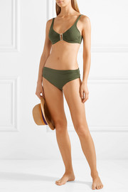 Melissa Odabash The Bel Air embellished underwired bikini top