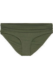 The Bel Air ruched bikini briefs