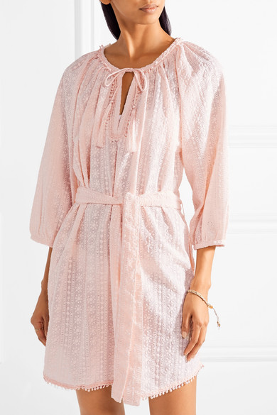 Alicia Embroidered Cotton Voile Coverup by Melissa Odabash