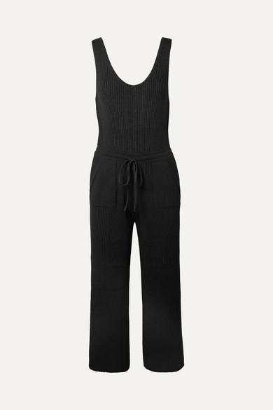 ELEVEN SIX Yossy gerippter Jumpsuit aus einer Pima-Baumwollmischung Erhalten Zu Kaufen Billig Verkauf Shop Großhandel Online Rabatt Wie Viel Tn9Id3m