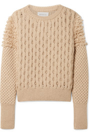 Mila cable-knit sweater