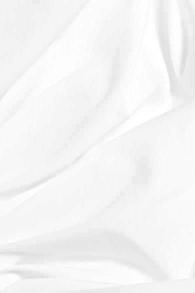 Preen by Thornton Bregazzi Petunia asymmetrisches Midikleid aus Baumwolle mit Rüschen