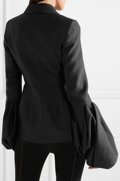 Roksanda Narika Jacke aus einer Woll-Seidenmischung