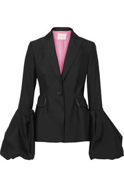 Narika wool and silk-blend jacket