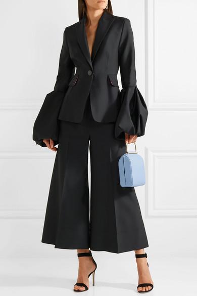 Roksanda Verkürzte Hose mit weitem Bein aus einer Wollmischung 2018 Neuer Online-Verkauf Billige Bilder Rabatte Günstig Online Auslass Fälschen Bestes Geschäft Zu Bekommen Online fC5xc