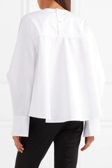 CLU Bluse aus Baumwollpopeline