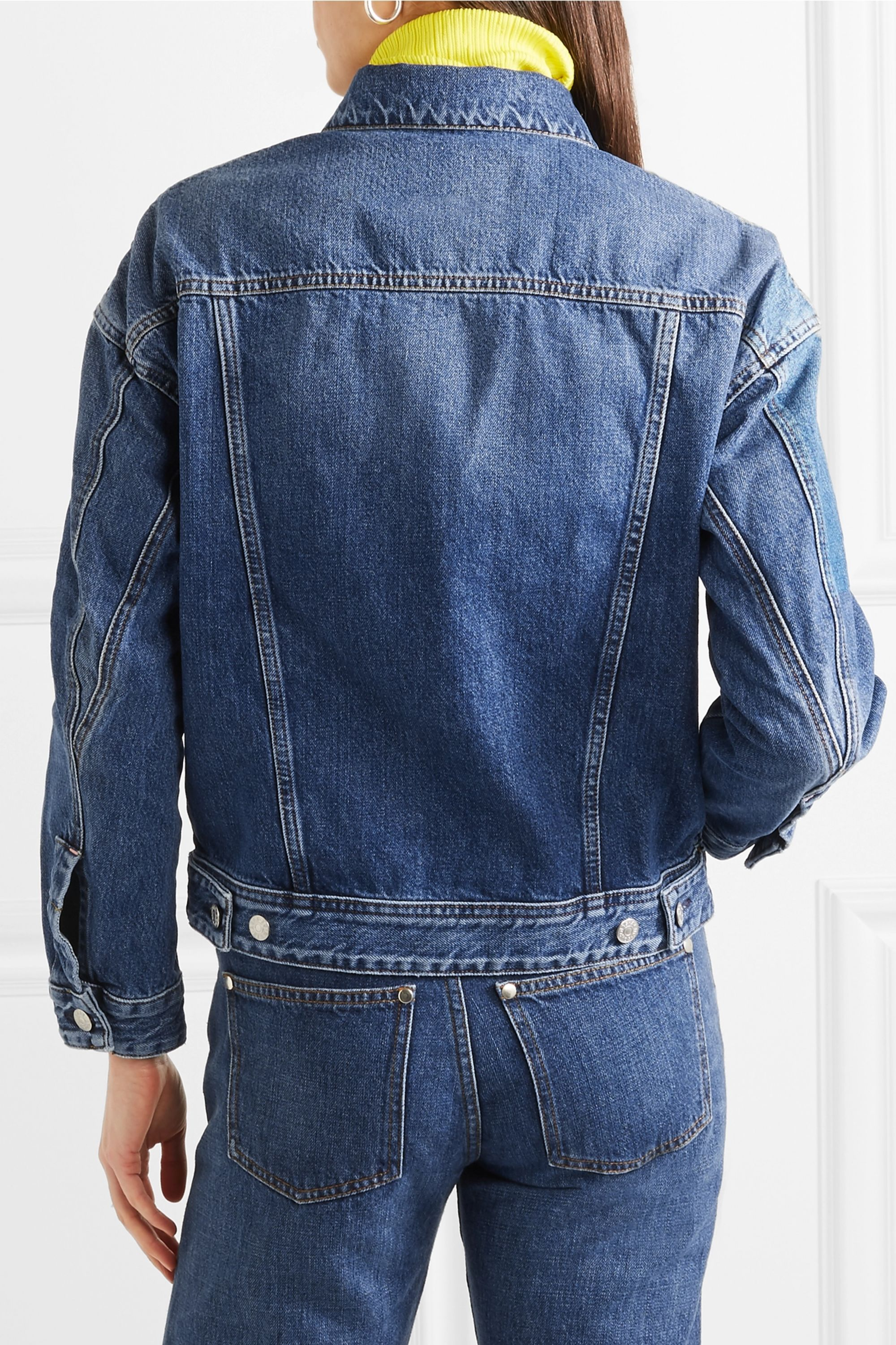Acne Studios Lamp oversized denim jacket