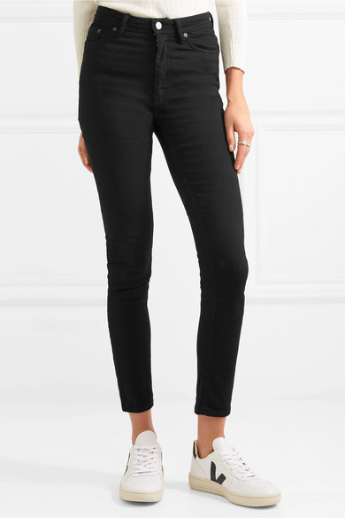 Acne Studios Peg hoch sitzende Skinny Jeans