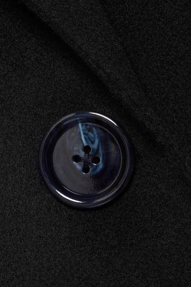 Acne Studios Anine Doublé Mantel aus einer Woll-Kaschmirmischung
