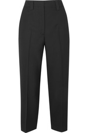 Acne Studios Trea cropped wool straight-leg pants