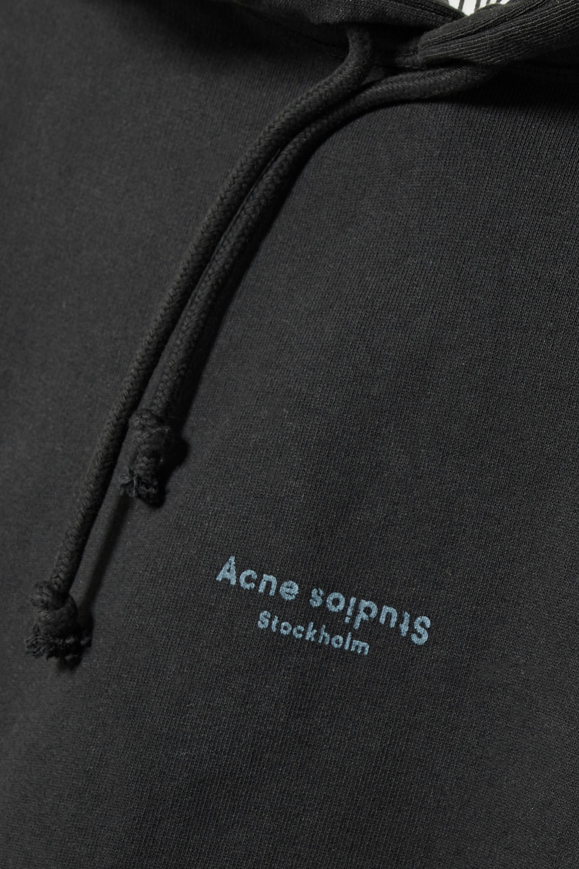 Acne Studios Joggy cropped cotton-jersey hoodie