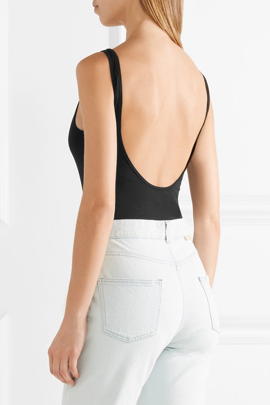 Acne Studios Willy Body aus Baumwoll-Jersey mit Stretch-Anteil