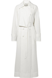 Amarris oversized twill trench coat
