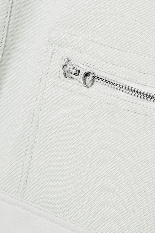 Acne Studios April hooded cotton-canvas parka