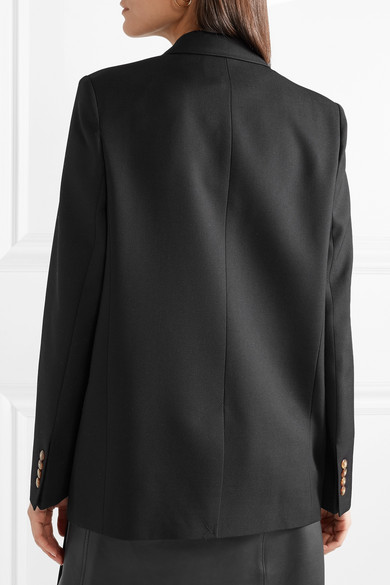 Acne Studios Krista Blazer From Wool-crêpe